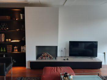 tv meubel, boekenkast